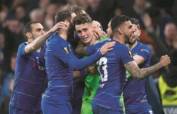 Chelsea jugará final inglesa ante Arsenal en la Europa League