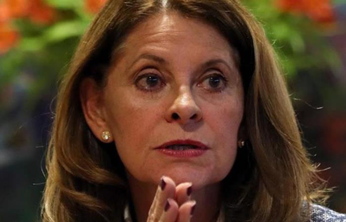Vicepresidenta de la República de Colombia, Marta Lucía Ramírez. Foto: EFE.