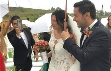 [FOTOS] Se revelan imágenes del lujoso matrimonio de Laura Moreno