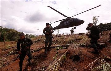 ¡No para la violencia! Estallido en campo minado dejó cinco militares heridos