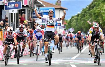 ¡Grande Gaviria! El colombiano se ganó la 3ra etapa del Giro de Italia