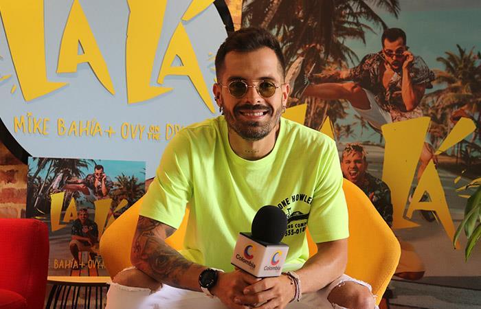 """Mike Bahía lanza su nuevo sencillo """"La Lá"""""""