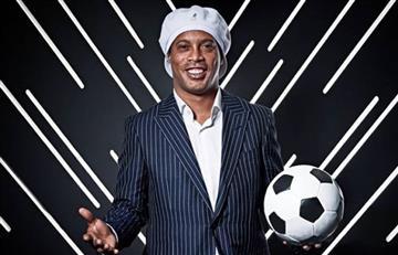 ¿Fan de Ronaldinho? Así será el itinerario del astro brasileño en Bogotá