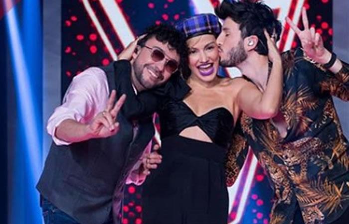 Andrés Cepeda, Fanny Lu y Sebastián Yatra son los jurados de 'La Voz Kids'. Foto: Instagram Oficial @lavozkidscolombia