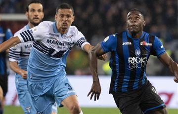 ¡No fue para Duván! Atalanta cae ante Lazio y pierde la Coppa Italia