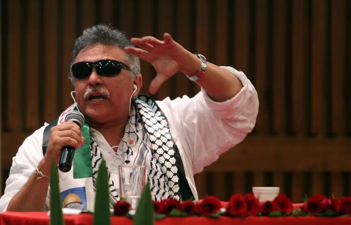 Jesús Santrich. Foto: EFE