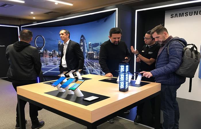 Samsung gira por el país dando a conocer su nueva gama de productos