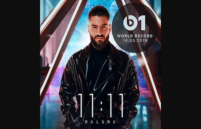 Maluma estrena su nuevo álbum '11:11'