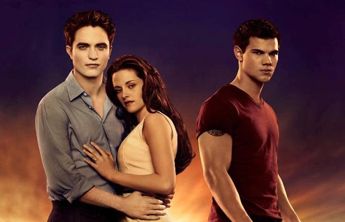 'Crepúsculo' catapultó a Pattinson, actuando al lado de  Kristen Stewart y Taylor Lautner. Foto: Facebook