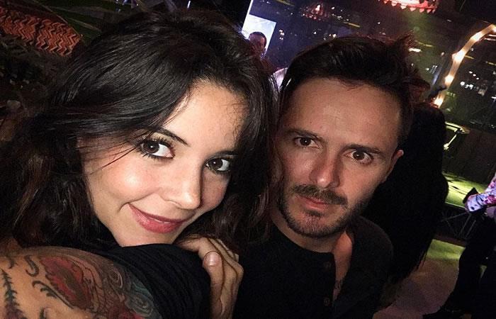Meleja Restrepo y Tatán Mejía. Foto: Instagram
