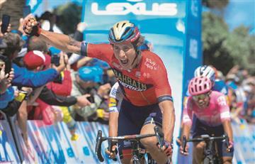 [VIDEO] ¡Por poco! Sergio Higuita llega tercero en la quinta etapa del Tour de California