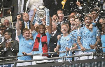 [VIDEO] Manchester City se corona campeón de la FA Cup
