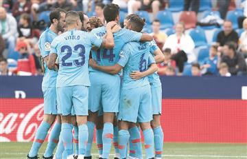 El Atlético de Santiago Arias cerró la temporada con un empate ante Levante