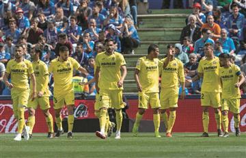 Con Carlos Bacca, Villarreal igualó con Getafe