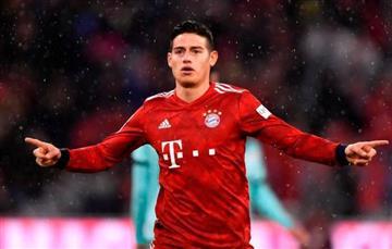Bayern Múnich aún no define futuro de James Rodríguez