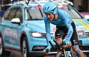 En el Astana confían y ratifican a Superman como su líder en el Giro