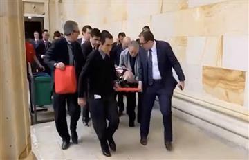 [VIDEO] Senador del Centro Democrático habría sufrido un infarto en el Congreso