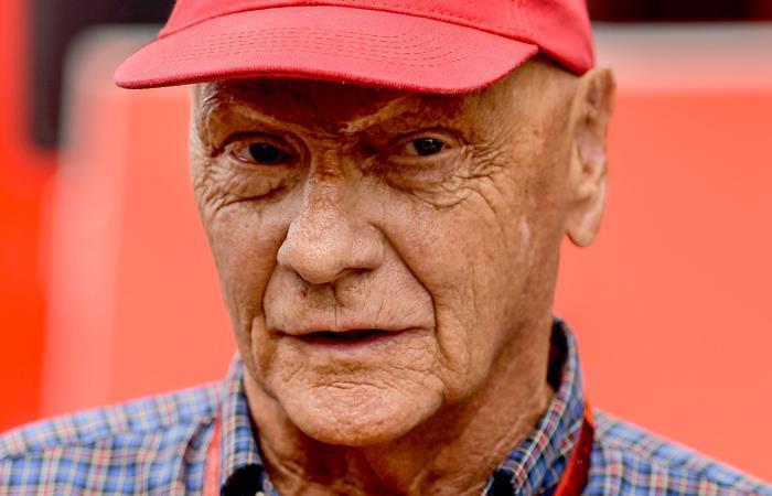 Niki Lauda falleció a sus 70 años. Foto: EFE