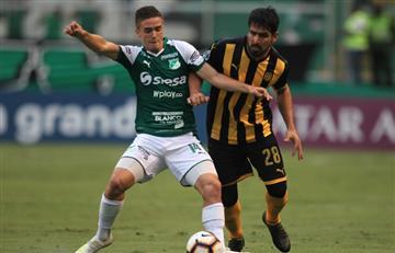 ¡Partidazo! Deportivo Cali rescató un punto en el último minuto ante Peñarol