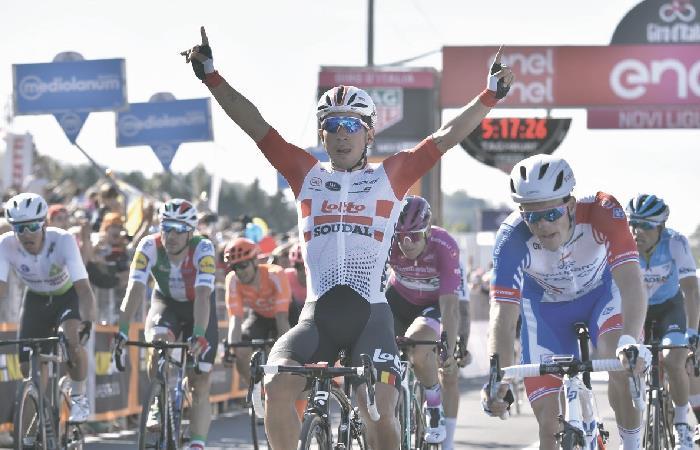 [VIDEO] ¡Lo hizo de nuevo! Caleb Ewan ganó la etapa 11 del Giro de Italia 2019
