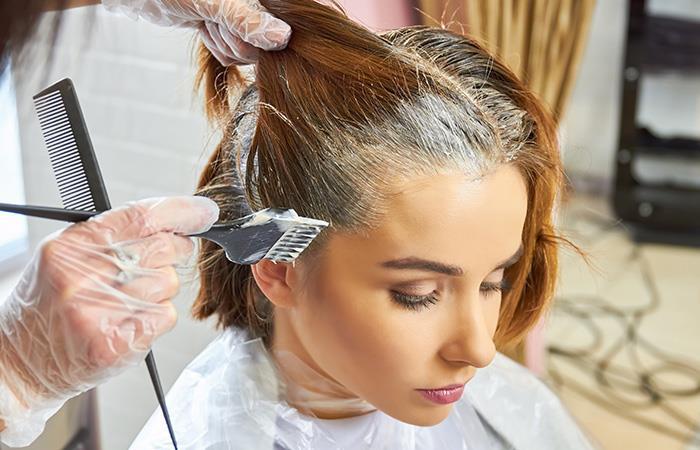 ¿Cuáles son las consecuencias de pintar el cabello?