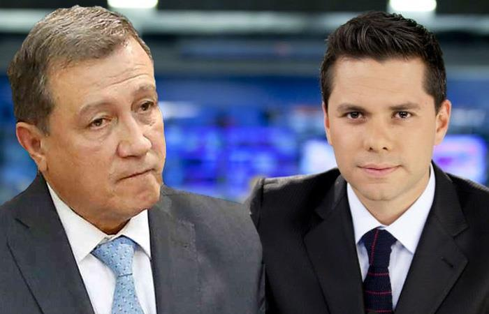Discusión entre Ernesto Macías y Luis Carlos Vélez por 'El man es Germán'