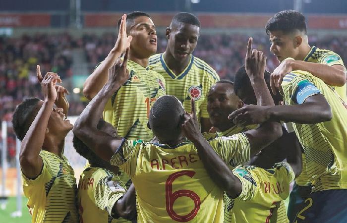 Colombia debuta con triunfo ante Polonia en el Mundial Sub 20