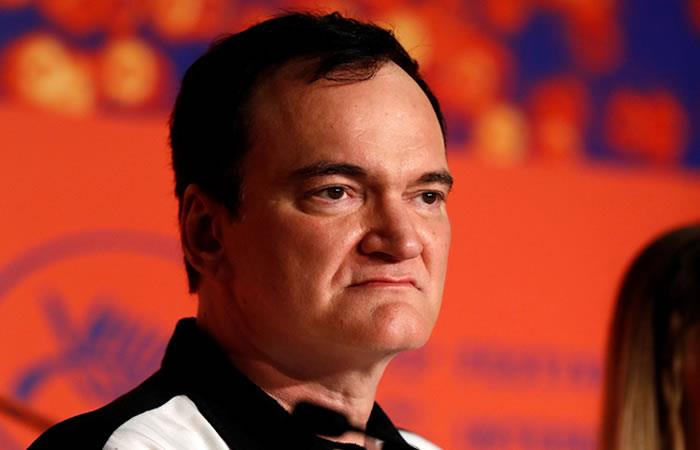 Director de cine Quentin Tarantino. Foto: EFE