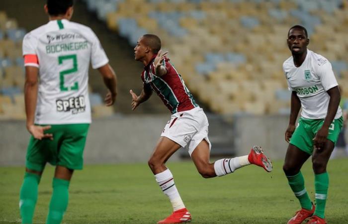 Copa Sudamericana: Atlético Nacional es goleado por Fluminense