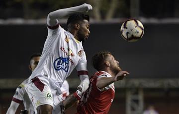 Deportes Tolima cayó ante Argentinos Juniors en el último minuto