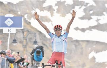 [VIDEO] Ilnur Zakarin conquistó Ceresole Reale y se quedó con la etapa 13