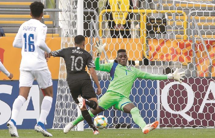 Nueva Zelanda goleó a Honduras en el Mundial Sub 20