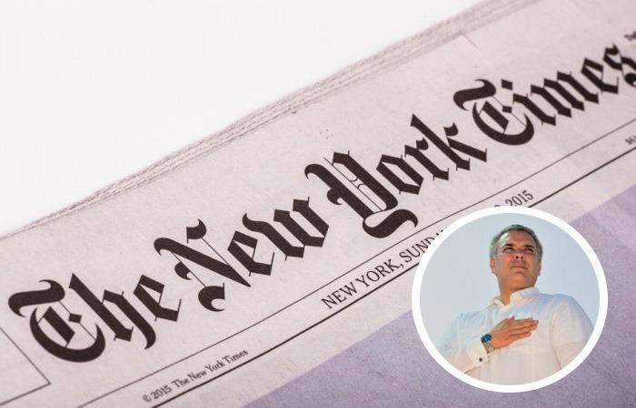 El gobierno de Iván Duque siempre ha mostrado su rechazo a la información dada por NYTimes. Foto: Twitter - Colombia.com