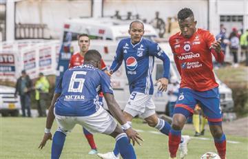 Millonarios venció a Deportivo Pasto y pone un pie en la final de la Liga Águila