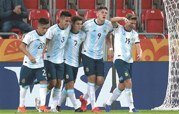 Argentina no tuvo piedad con Sudáfrica en el Mundial Sub 20