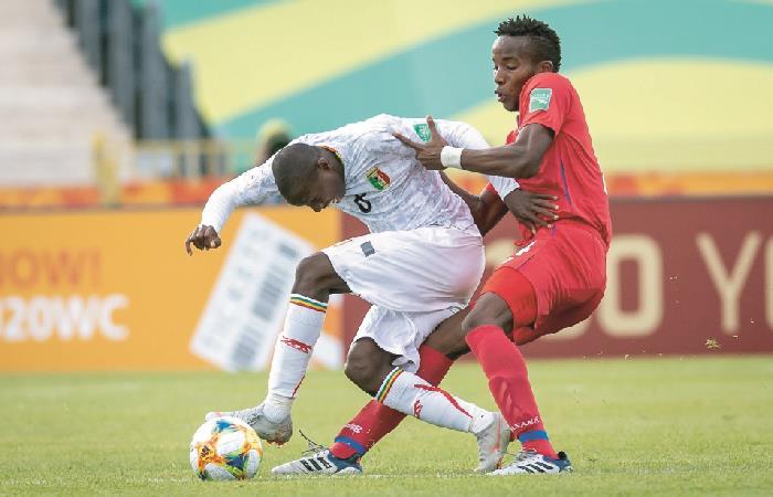 Panamá y Malí en acción durante el Mundial Sub 20. Foto: EFE