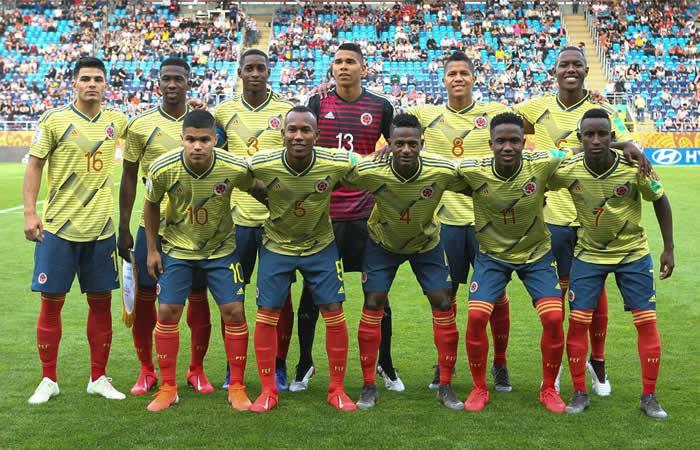 Selección Colombia Sub-20 - EFE