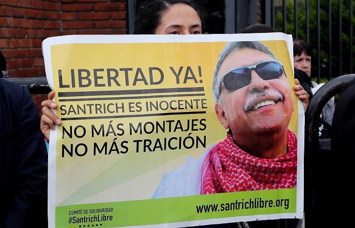 'Santrich' fue recapturado el pasado 17 de mayo. Foto: EFE