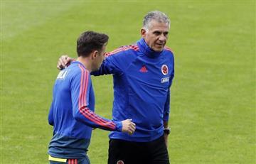 [FOTOS] Santiago Arias ya entrena con la Selección Colombia