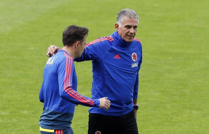 Selección Colombia, Santiago Arias, Carlos Queiroz.