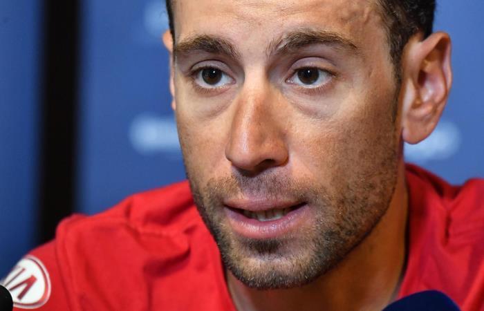 Vincenzo Níbali, ciclista italiano. Foto: EFE
