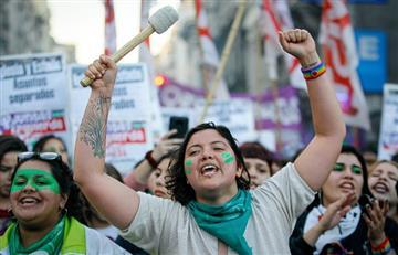 ¡Una vez más! Así fue la marcha pro aborto en Argentina