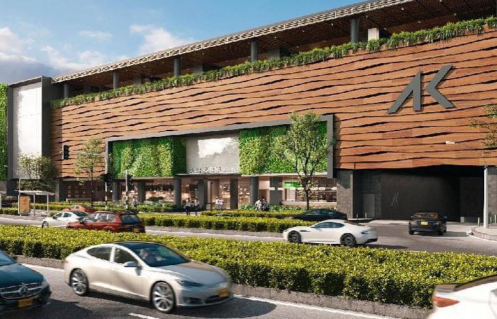 Fachada de Arkadia, el nuevo centro comercial de Medellín. Foto: Facebook