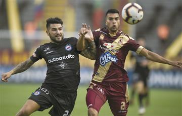 Deportes Tolima se despide de la Copa Sudamericana