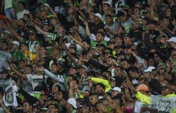 [VIDEO] Así fueron las protestas de los hinchas de Nacional, tras eliminación de Sudamericana