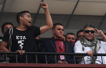 España rechazó que la camiseta de la ETA apareciera en liberación de Santrich