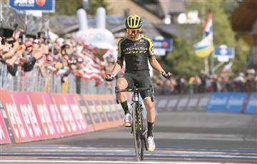 [VIDEO] ¡Grande 'Chavito'! Victoria para Colombia en el Giro de Italia