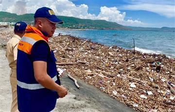 Desechos invadieron las playas de Puerto Colombia