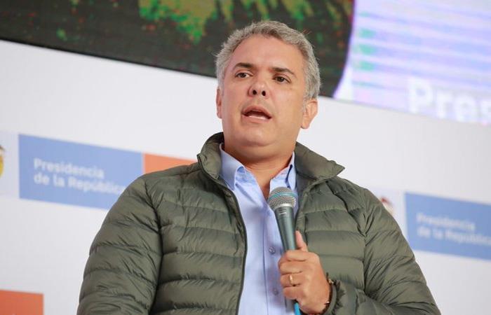 Iván Duque no ha dudado en mostrar su disgusto con la Justicia colombiana, aunque aseguró que la respetará. Foto: Twitter