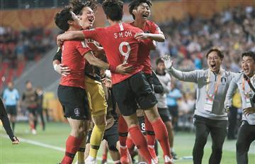 ¡Sorpresa! Argentina cayó ante Corea del Sur en el Mundial Sub 20